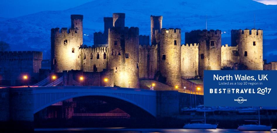 Conwy in North Wales